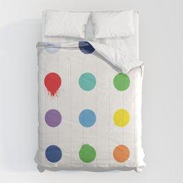 geometric 56 imperfecton variaton 1 Comforters