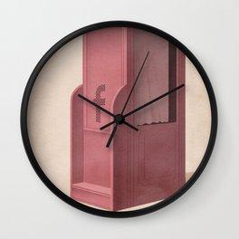 Social Media Confessions Wall Clock