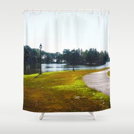 The Lakeshore from home Shower Curtain