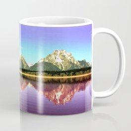 Grand Tetons 🌄 Purple Reflection Coffee Mug