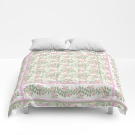 Mix'n'Match Dogrose Patterns Comforters