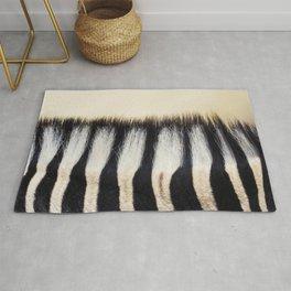 Zebra hair Rug