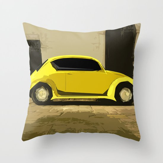 The LOve Bug reVAMP Throw Pillow