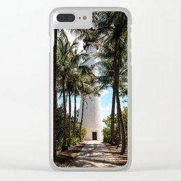 Cape Florida Lighthouse Clear iPhone Case