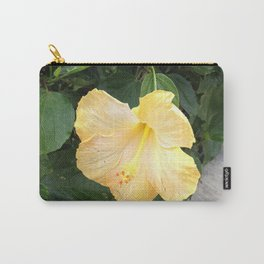 Yellow Tigerlily Carry-All Pouch