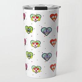 Space Froggos Love You! Travel Mug