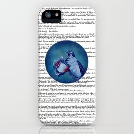 The Nightingale And The Rose iPhone Case