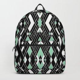 Art Deco Mint Backpack