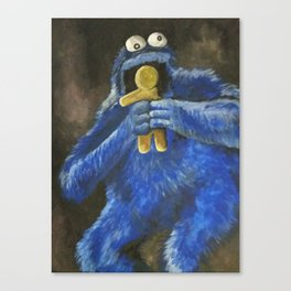 Cookie! Canvas Print