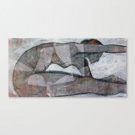 Yoga Series: Determined Canvas Print