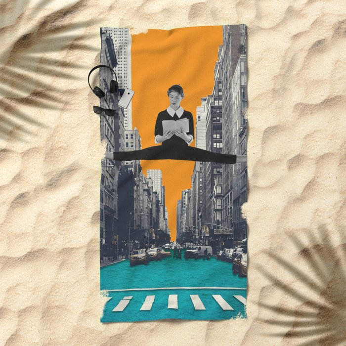 Uptown Girl Beach Towel