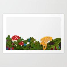 SKOGSLANDET Art Print