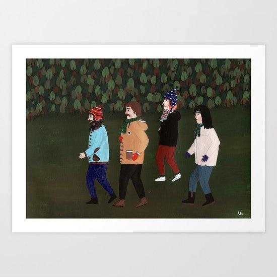 Excursion Art Print