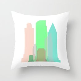 City printing design #society6 Throw Pillow