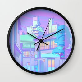 Night in Utopia Wall Clock