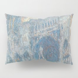 1894-Claude Monet-The Portal of Rouen Cathedral in Morning Light-65 x 100 Pillow Sham