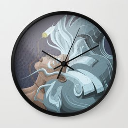 Kida from Atlantis Wall Clock