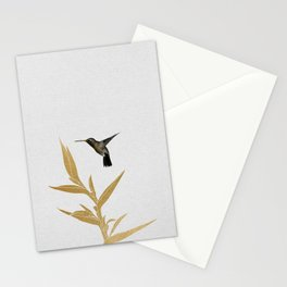 Hummingbird & Flower II Stationery Cards