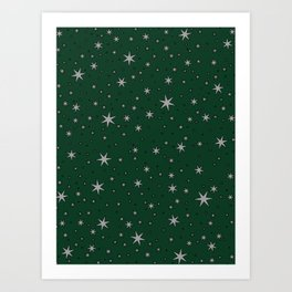 Slytherin Chapter Stars Art Print