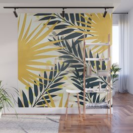Palm Leaves Wall Mural