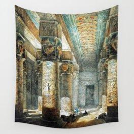 Tempel Dendera Wall Tapestry