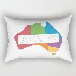 LGBT equality australia Rectangular Pillow