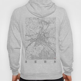 Bern Map Line Hoody