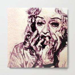 Bette Davis Metal Print