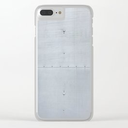 Light Industrial Clear iPhone Case