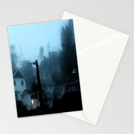 Strange Night: Ghost Light Stationery Cards