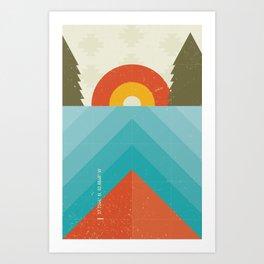 Niangua River Art Print
