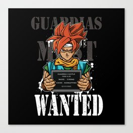 Guardias Most Wanted Canvas Print