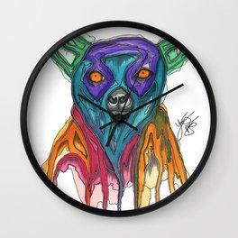 The Lemur Wall Clock