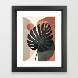 Soft Shapes VIII Framed Art Print