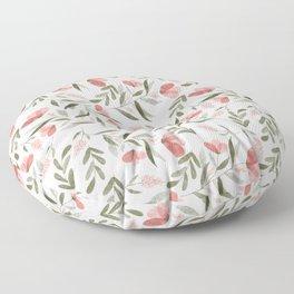 Summer Florals Floor Pillow