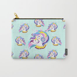 Magical Rainbow Unicorn pattern 04 Carry-All Pouch