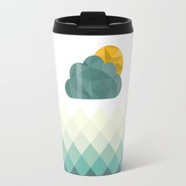 Sea Polygons Travel Mug