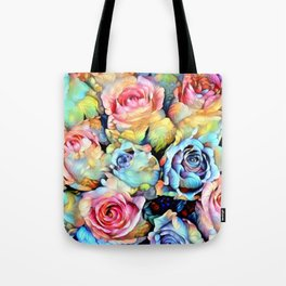 For Love of Roses Tote Bag