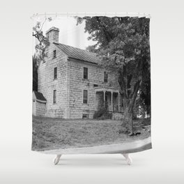 Old Stone Shop, Pleasant Hill (Shakertown) Shower Curtain