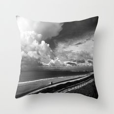 Torrance Beach Throw Pillow