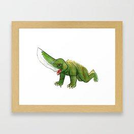 Guiron Framed Art Print