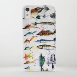 Flies and Lures iPhone Case