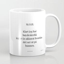 Poesikopp / METER OVER HAVET / @skrivelisa Coffee Mug