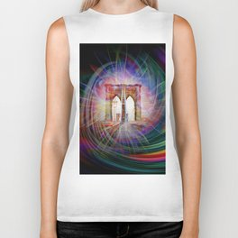 Our world is a magic - Time Tunnel 101 Biker Tank