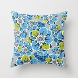 Mandala Flowers 6 Throw Pillow