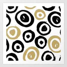 Geometric Pattern 7 Art Print