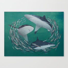 Lunch! Canvas Print