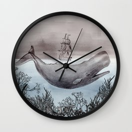 The Sea Wall Clock