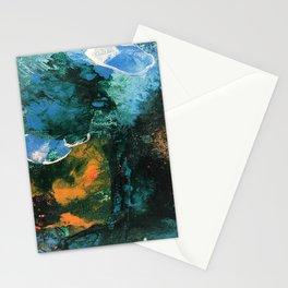 Mini World Environmental Blues 4 Stationery Cards
