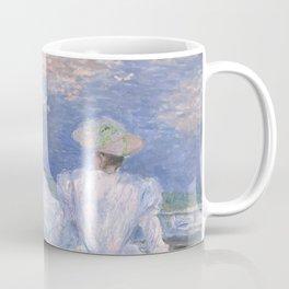1887-Claude Monet-On the Boat-133 x 145 Coffee Mug